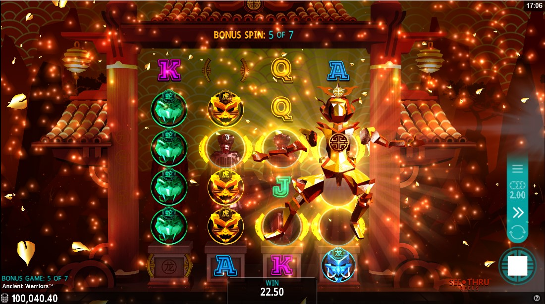 Ancient Warriors игровой автомат