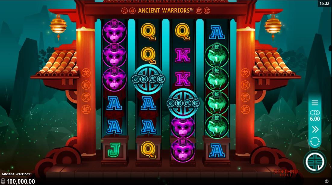Ancient Warriors онлайн слот