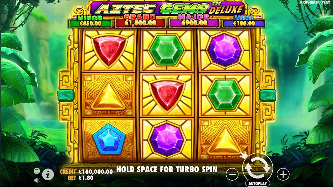 Aztec Gems Deluxe онлайн слот