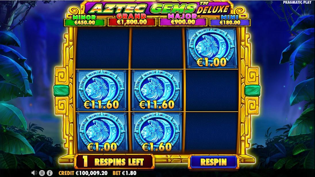 Aztec Gems Deluxe free slot