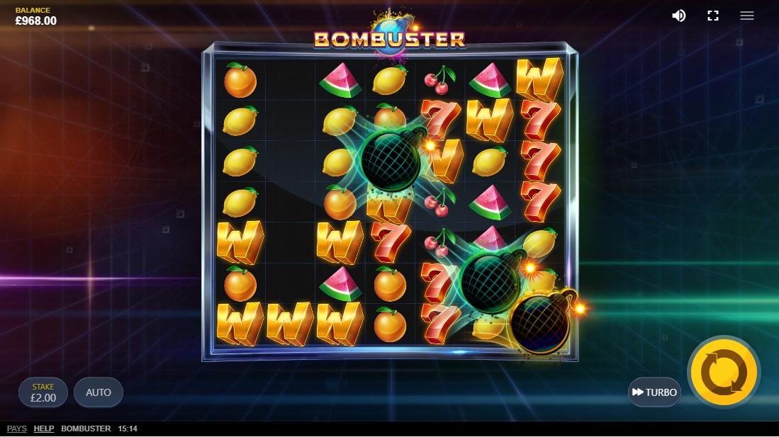 Bombuster игровой автомат