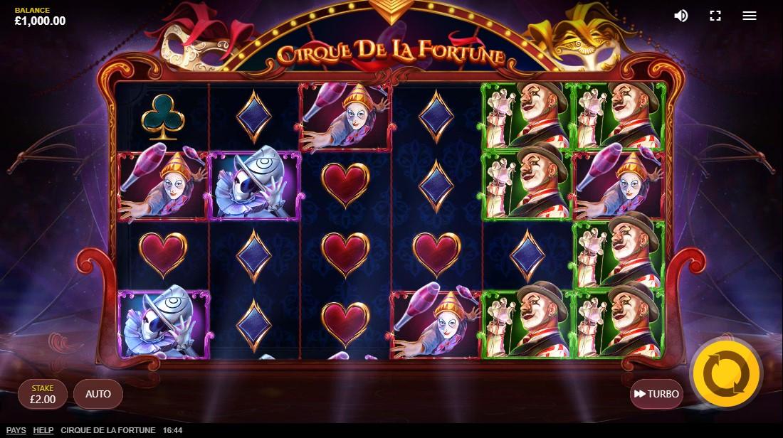 Cirque Dе La Fortune игровой автомат