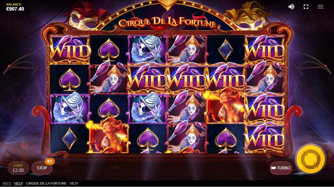 Cirque Dе La Fortune онлайн слот