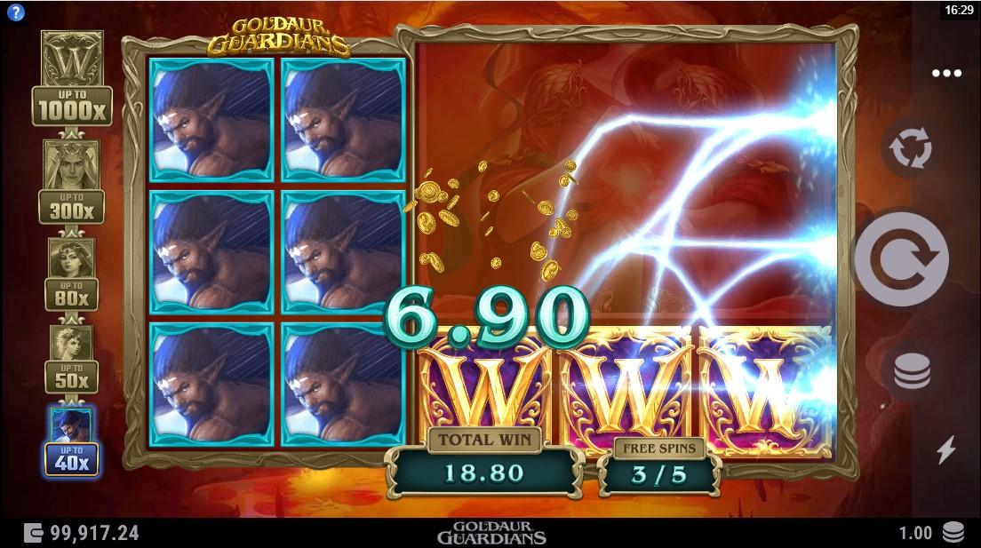 Goldaur Guardians игровой автомат