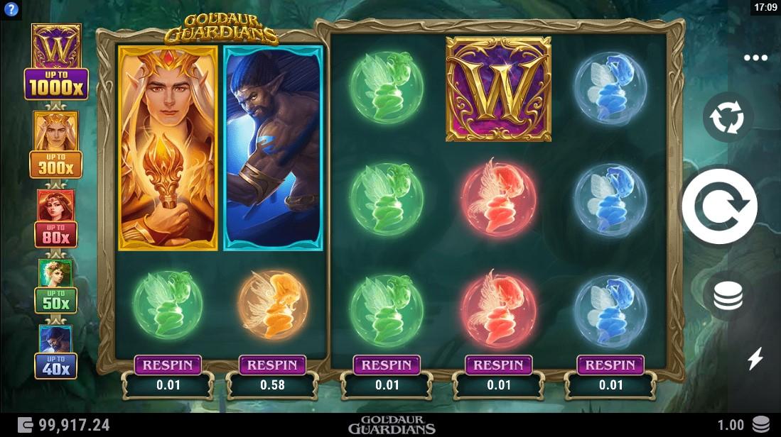 Goldaur Guardians free slot