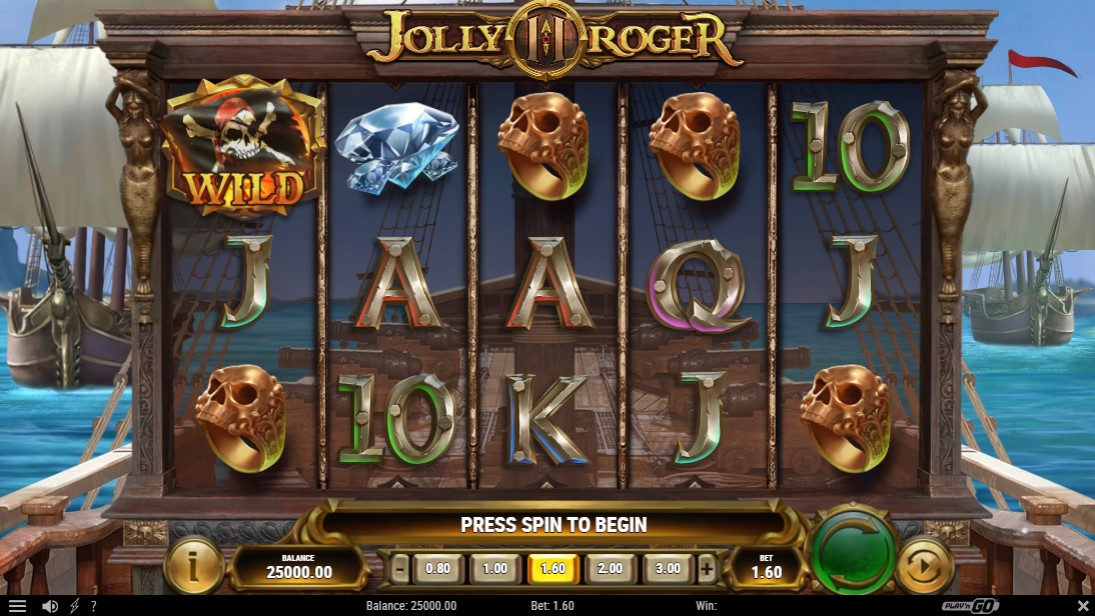 Jolly Roger 2 free slot