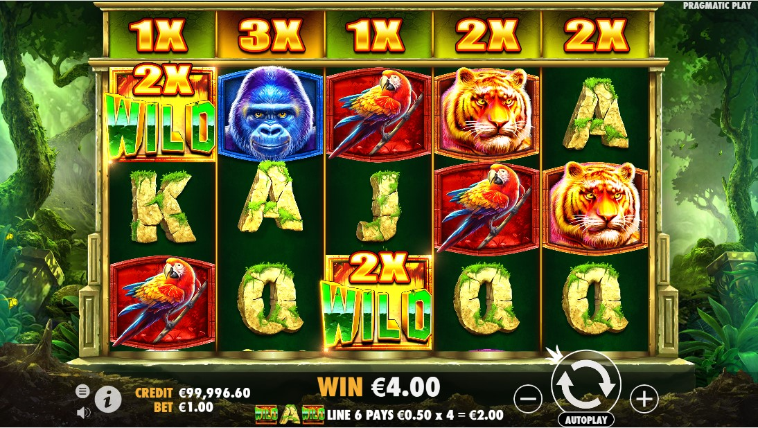 Jungle Gorilla free slot
