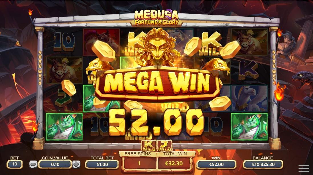 Medusa - Fortune and Glory игровой автомат