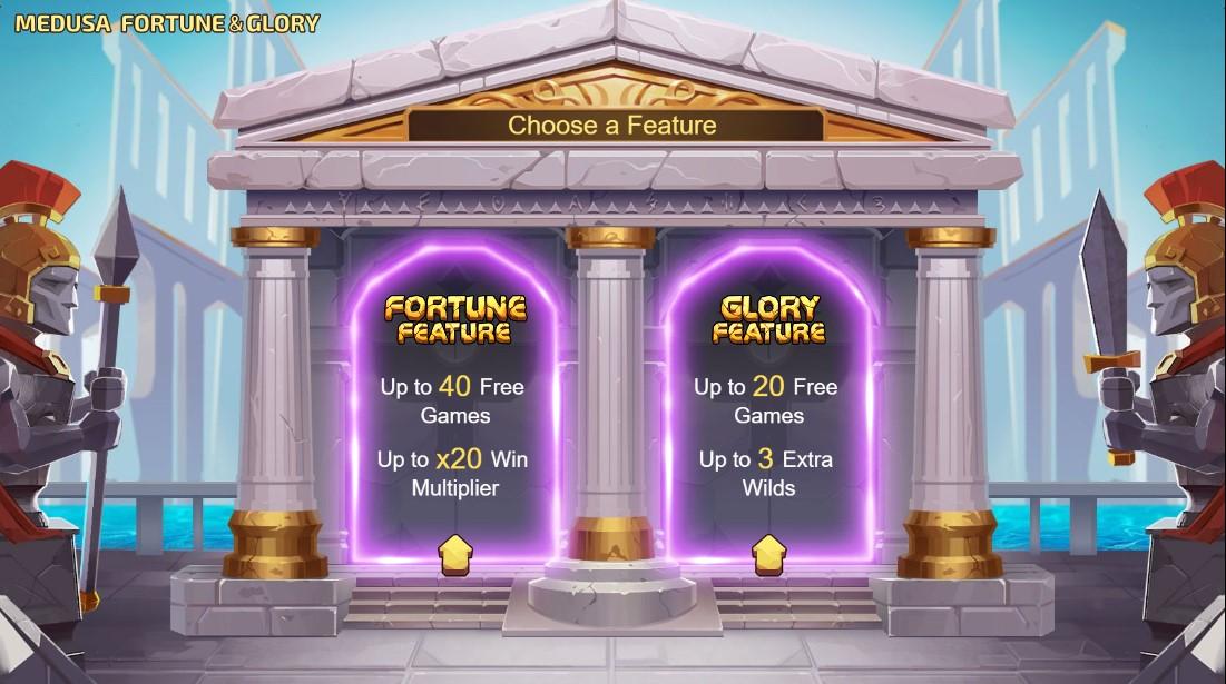 Medusa - Fortune and Glory бесплатный слот