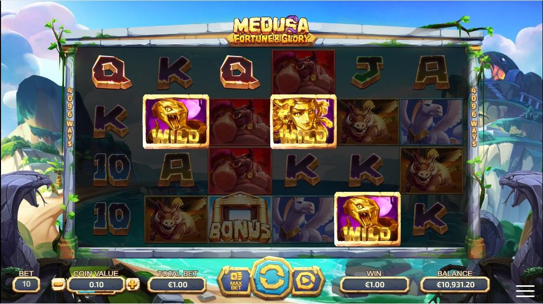 Слот Medusa - Fortune and Glory играть