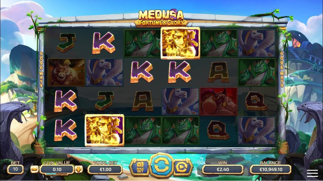 Medusa - Fortune and Glory free slot