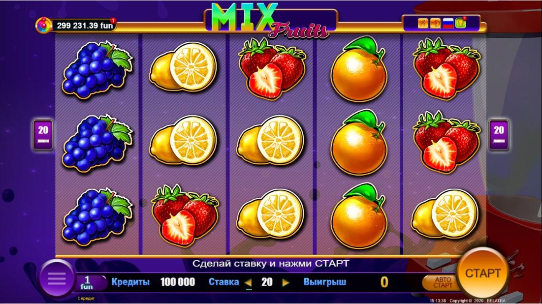 Mix Fruits free slot