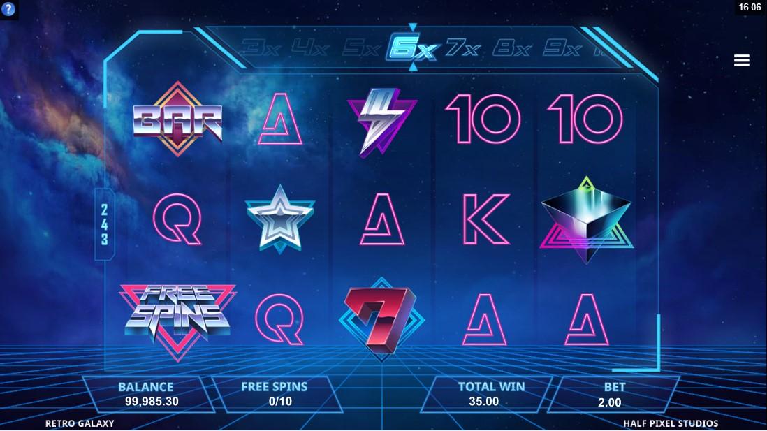 Retro Galaxy free slot