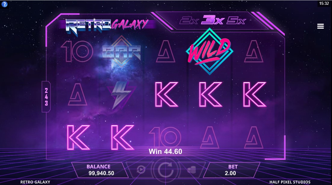 Retro Galaxy игровой автомат