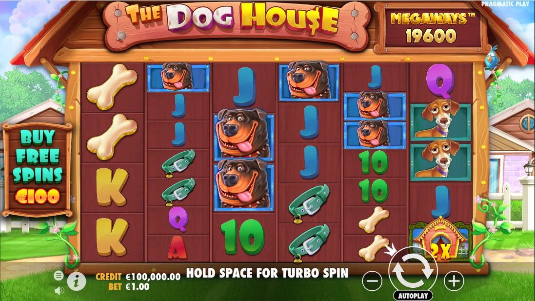 Слот The Dog House Megaways играть