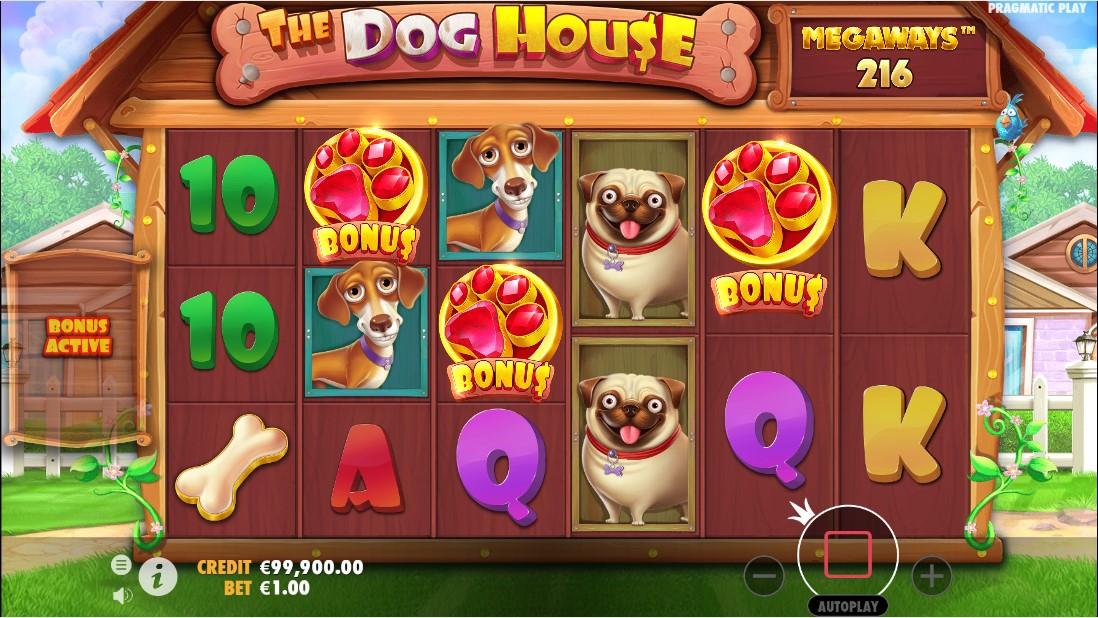 Онлайн слот The Dog House Megaways
