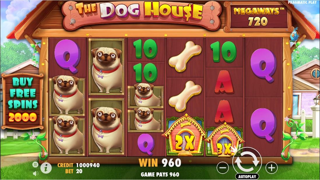 The Dog House Megaways бесплатный слот