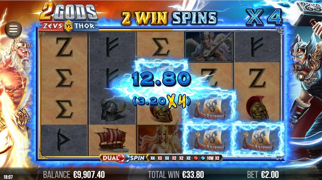 2 Gods Zeus versus Thor игровой автомат