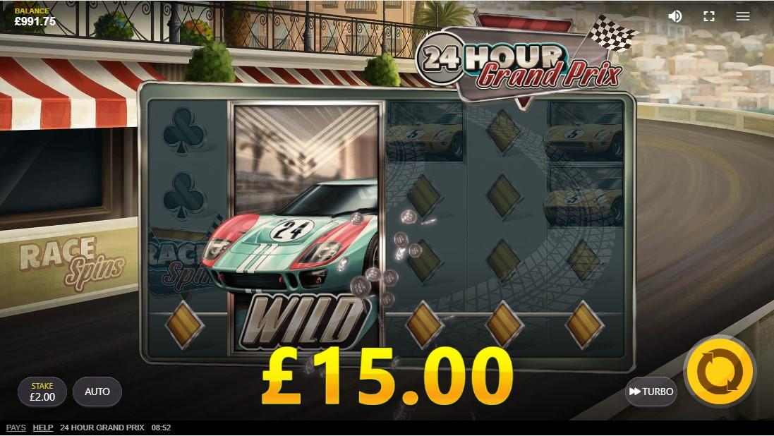 24 Hour Grand Prix игровой автомат