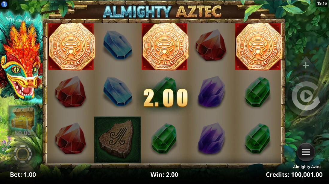 Almighty Aztec free slot
