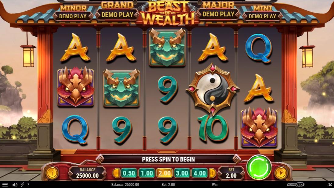 Слот Beast of Wealth играть бесплатно