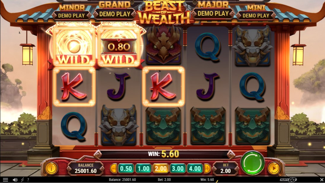 Beast of Wealth free slot