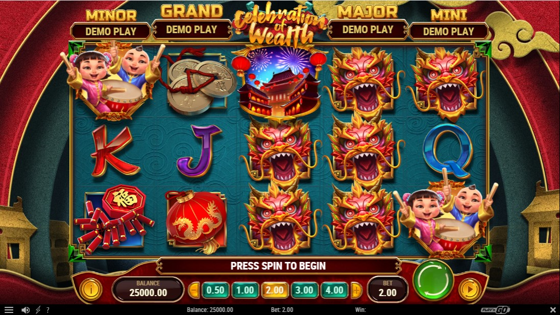 Celebration of Wealth free slot
