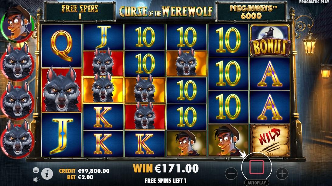 Curse of the Werewolf Megaways игровой автомат