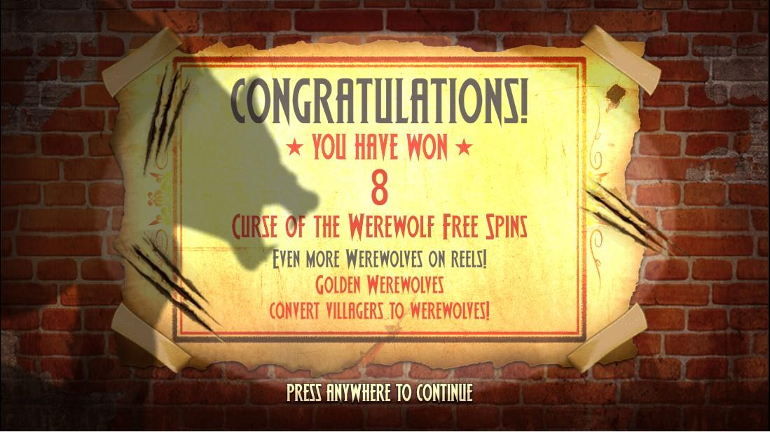 Curse of the Werewolf Megaways онлайн слот