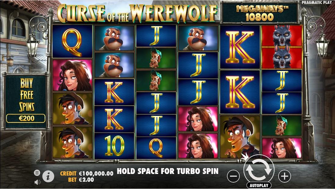 Слот Curse of the Werewolf Megaways играть