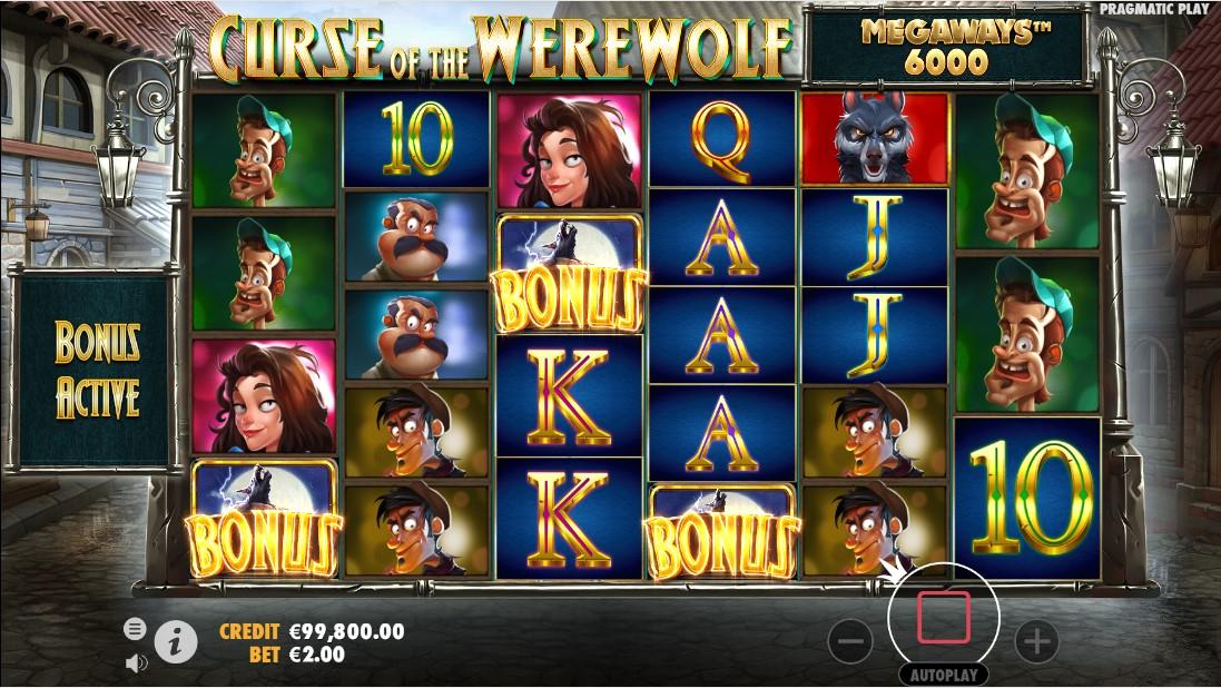 Игровой автомат Curse of the Werewolf Megaways