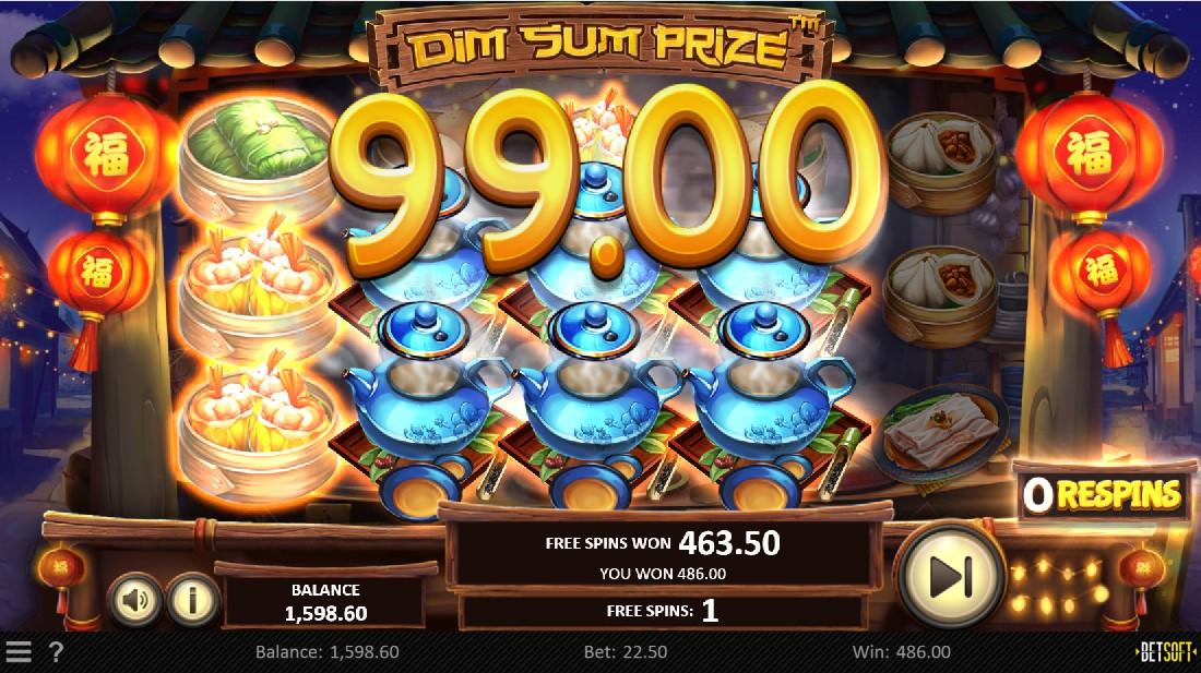 Dim Sum Prize игровой автомат