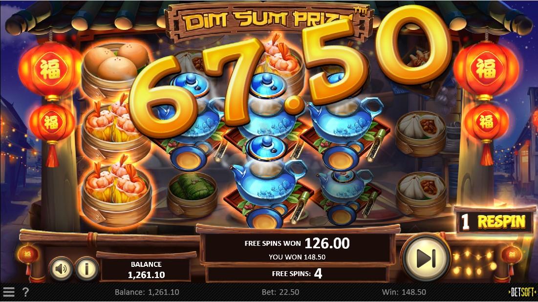 Dim Sum Prize онлайн слот