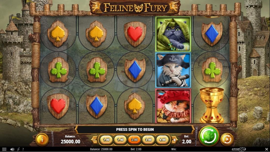 Feline Fury онлайн слот