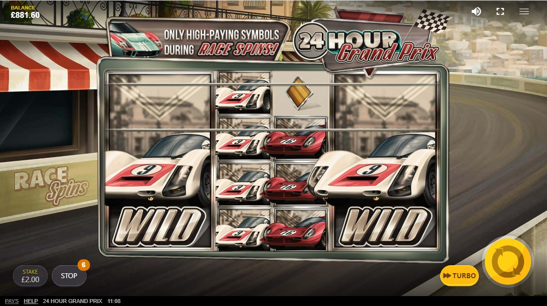 24 Hour Grand Prix free slot