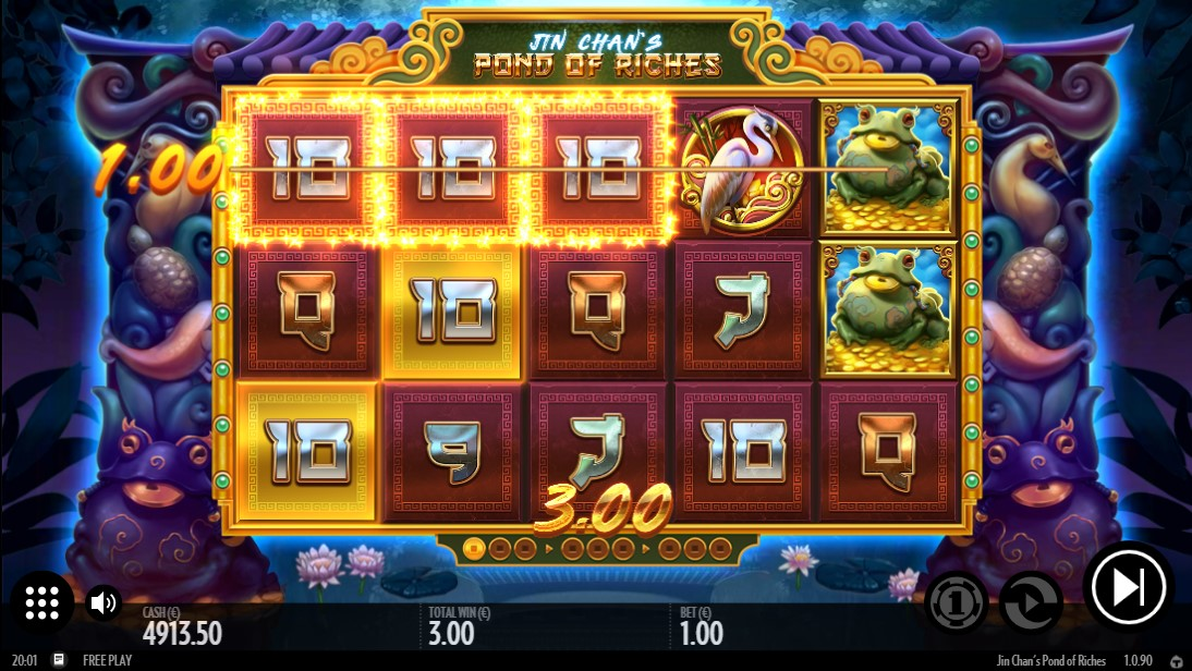 Jin Chan's Pond of Riches игровой автомат