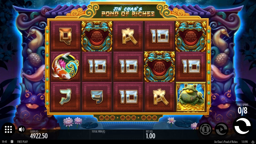 Онлайн слот Jin Chan's Pond of Riches