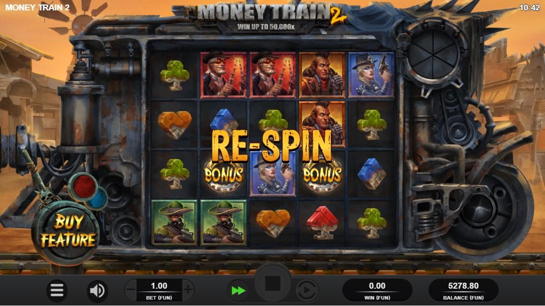 Слот Money Train 2 играть
