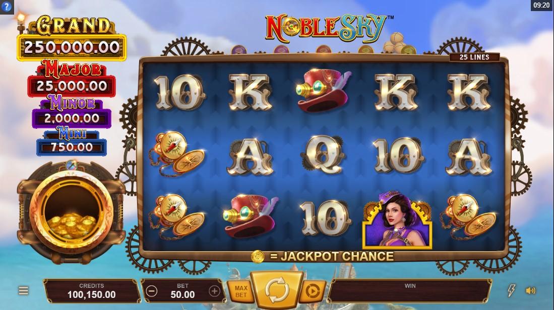 Noble Sky онлайн слот