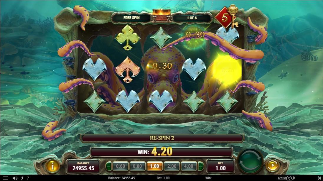 Octopus Treasure игровой автомат