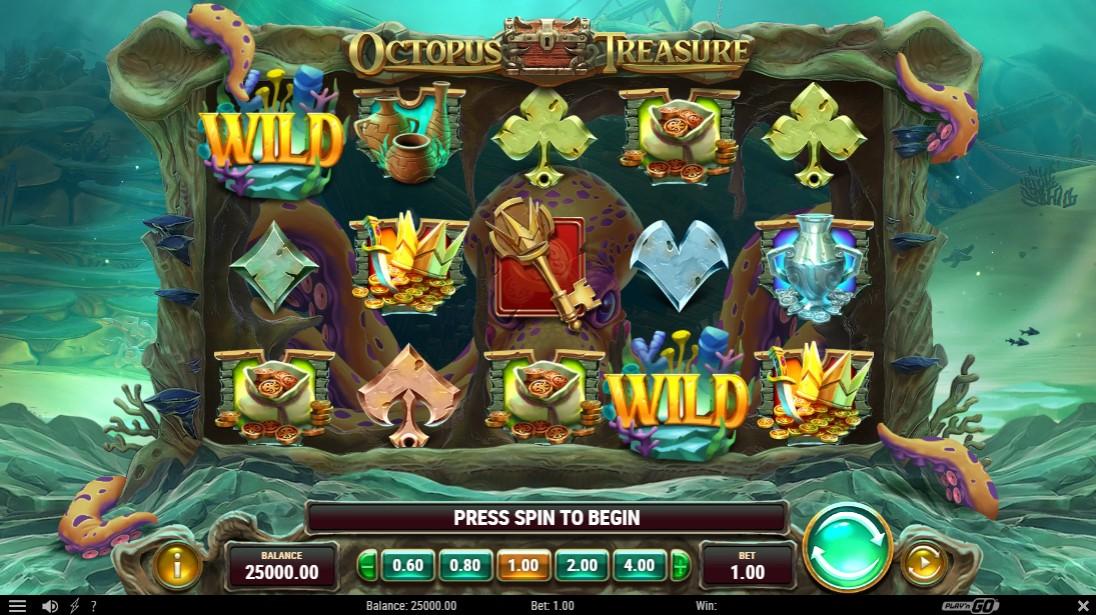 Octopus Treasure free slot