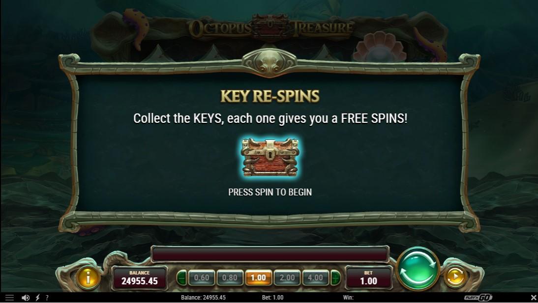 Слот Octopus Treasure играть бесплатно