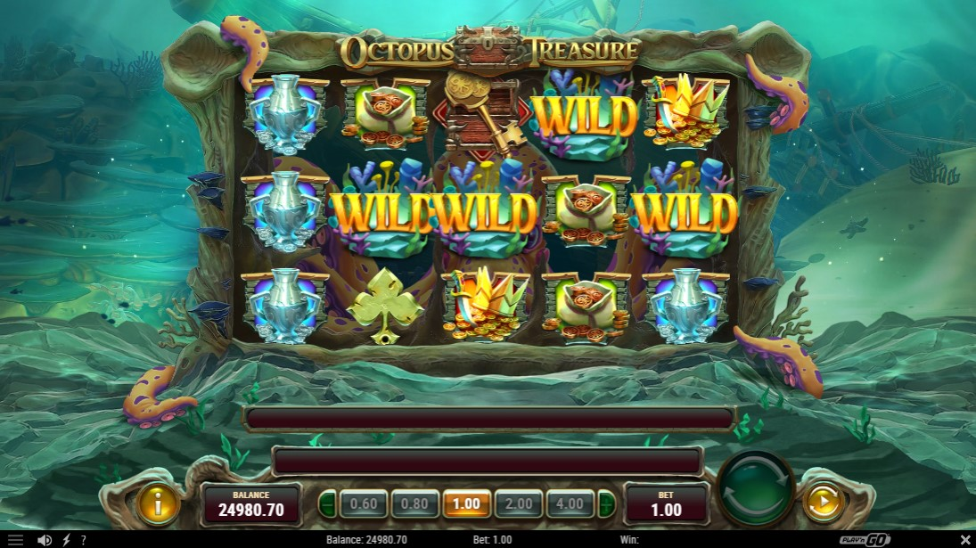 Octopus Treasure онлайн слот