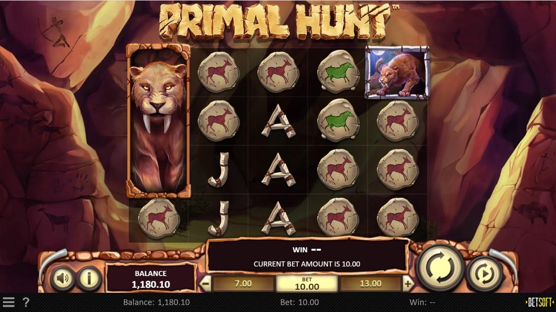 Primal Hunt онлайн слот