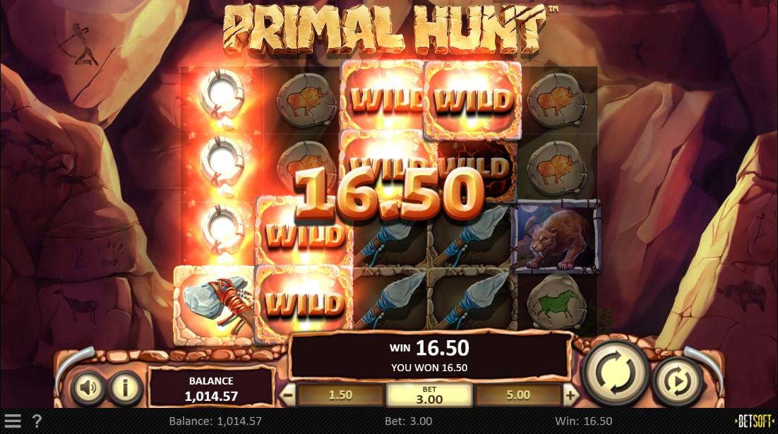 Primal Hunt free slot