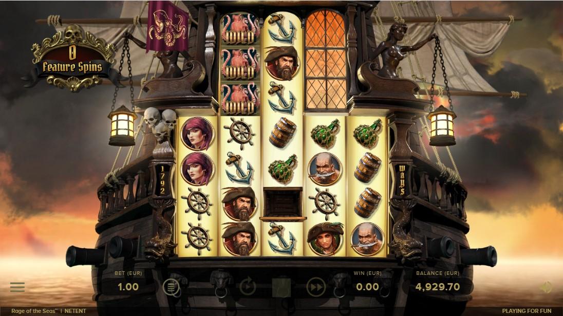 Rage of the Seas играть онлайн