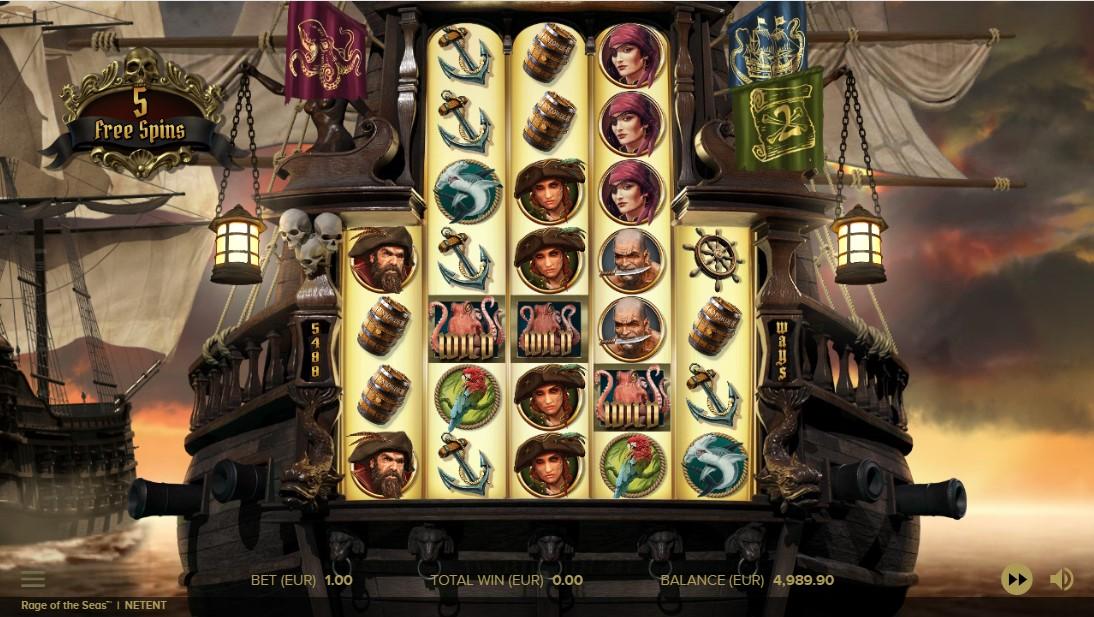 Rage of the Seas игровой автомат