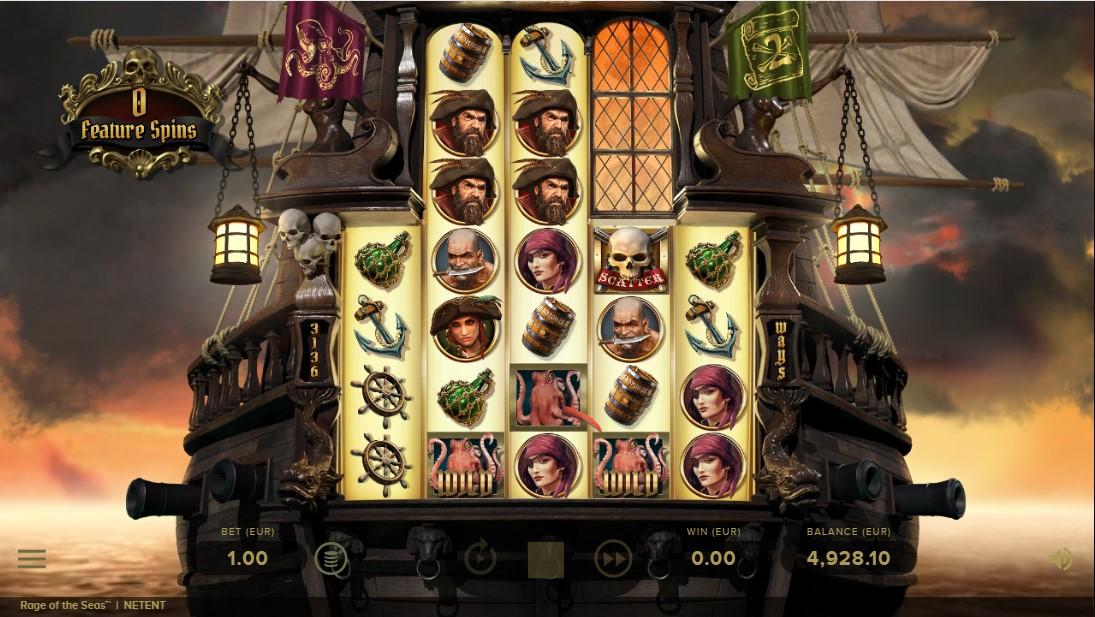 Слот Rage of the Seas играть бесплатно