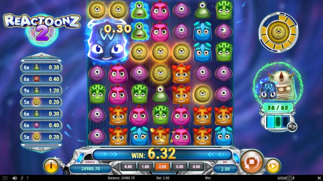 Reactoonz 2 игровой автомат