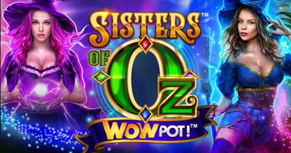 Играть Sisters of Oz WOWPot бесплатно